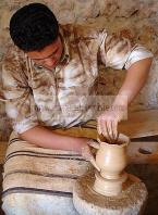 art;artisanat;potier;poterie;ile;musee;Mus�e;tourisme;djerba;jerba;architecture;musulmane;atelier;artisan;