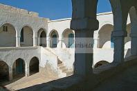 djerba;houmt;souk;ile;jerba;architecture;musulmane;caravanserail;foundouk;