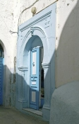 bizerte;architecture-musulmane;maison;medina;porte