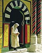 architecture-musulmane;Hammam;medina;tradition;tunis;souk;porte