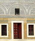 architecture;musulmane;medina;tunis;patio;Palais;