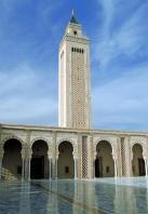 Architecture;mosquée;contemprorain;carthage