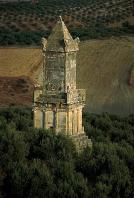 architecture-antique;antiquite;dougga;punique;numide;mausolee;libyco-punique