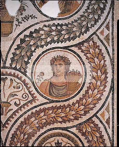 musee;bardo;romain;antiquite;mosaique;saison;printemps;
