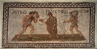musee;bardo;romain;antiquite;mosaique;vie-quotidienne;esclave;maitre;