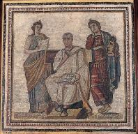 musee;bardo;romain;antiquite;mosaique;muses;virgile;poete;