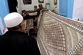 Le souk aux tapis