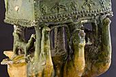 Céramique jaune et vert Tunisie