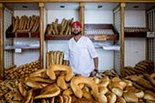 Les pains en Tunisie