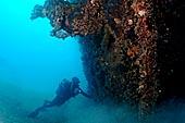 Les épaves sous marines