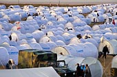 Les réfugiés à la frontière
