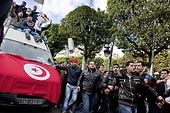 La manifestation de Tunis