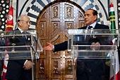 Visite de Silvio Berlusconi