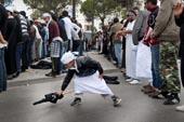 Manifestation salafistes et artistes