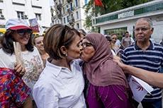 Leila Ouled Ali en campagne