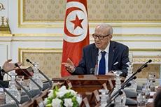 """La Tunisie en état de guerre"" BCE"