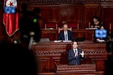 Vote confiance gouvernement Chahed