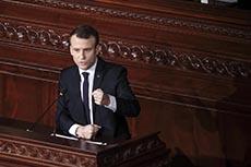 Discours de Macron à l'ARP