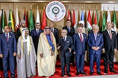 Sommet Ligue Arabe à Tunis
