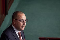 Hichem Mechichi pour vote de confiance ARP