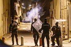 Affrontements jeunes et police