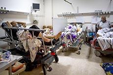 Crise Covid à l'hôpital