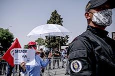 Manifestations autour de l'ARP