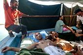 Transfert des blessés libyens