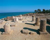 antiquite;punique;kerkouane;villa;architecture;antique;peristyle;