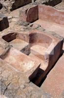 antiquite;punique;kerkouane;villa;architecture;antique;baignoire;