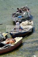 korbous;cap;bon;thermalisme;plage;mer;balneaire;montagne;barque;bateau;peche;pecheur;