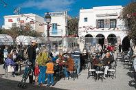 djerba;houmt;souk;ile;jerba;cafe;boutique;touristes;tourisme;place;medina;
