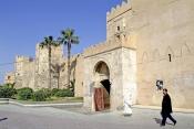 sfax;medina;rempart;porte;enceinte;architecture-musulmane