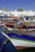bateau;barque;port;peche;canal;architecture-musulmane;enceinte;kasbah;medina;bizerte
