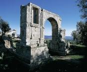 architecture-antique;antiquite;romain;dougga;arc;porte