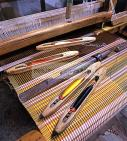 mahdia;artisanat;tissage;tisseur;tissus;soie;laine;coton;