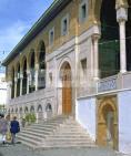 Mosqu�e;architecture;musulmane;Jam�a;el;Zitouna;fa�ade;porte;islam;Tunis;Medina;