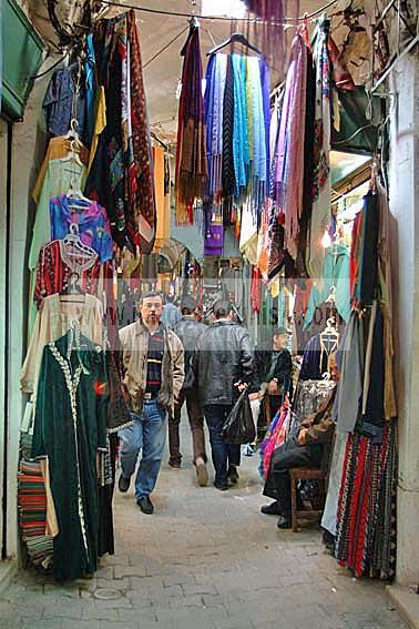 artisanat;medina;shopping;souk;tunis;