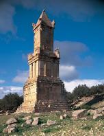 architecture-antique;antiquite;dougga;punique;numide;mausolee;libyco-punique