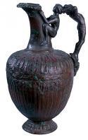 carthage;oenochoe;punique;musee;bronze;antiquit�