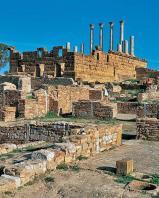 antiquite;romain;thuburbo-majus;capitole;villa;temple