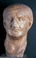 musee;bardo;romain;antiquite;buste;empereur;marbre;vespasien;tete;