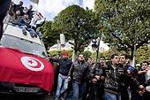 La manifestation de Tunis