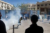 Affrontements à Tunis