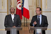 Marzouki à l'Elysée