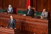 Visite de Hollande en Tunisie