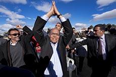 Meeting Marzouki à Sidi Bouzid