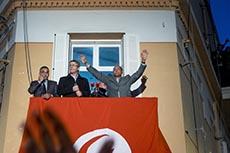 Discours de Marzouki à son QG