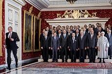 Le nouveau gouvernement à Carthage