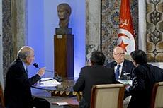 Itw Essebsi / Europe1